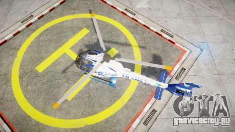 Eurocopter EC130 B4 TRANS TV для GTA 4 вид справа