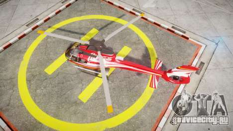 Eurocopter EC130 B4 Coca-Cola для GTA 4 вид справа