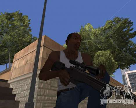 HD Weapon Pack для GTA San Andreas второй скриншот