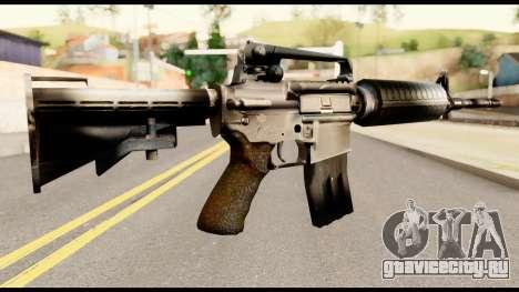 M4 from Metal Gear Solid для GTA San Andreas второй скриншот