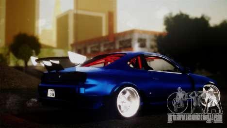 Nissan Silvia S15 DC Hunter для GTA San Andreas вид слева