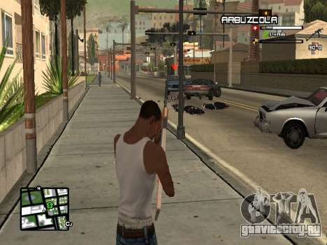 CLEO HUD by SampHack v.20 для GTA San Andreas третий скриншот