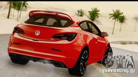 Vauxhall Astra VXR для GTA San Andreas вид слева