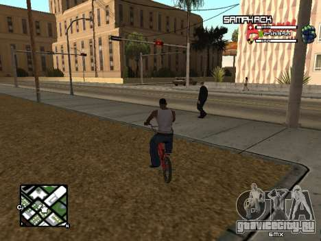 С-HUD by SampHack v.21 для GTA San Andreas