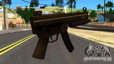 MP5 from GTA 4 для GTA San Andreas второй скриншот