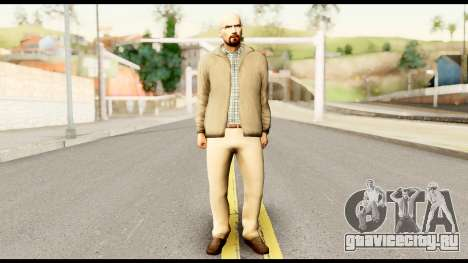 Heisenberg from Breaking Bad для GTA San Andreas