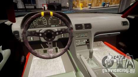 Nissan Silvia S13 Missile для GTA 4 вид сзади