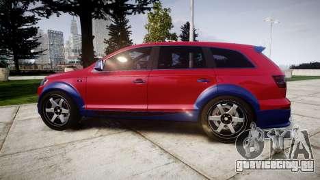 Audi Q7 2009 ABT Sportsline для GTA 4 вид слева