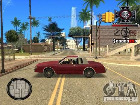 C-HUD for Ghetto для GTA San Andreas четвёртый скриншот