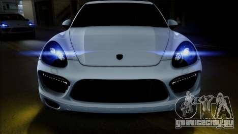 Porsche Cayenne Turbo 2012 для GTA San Andreas вид сзади