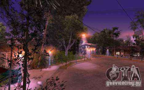 New Grove Street 50 для GTA San Andreas третий скриншот