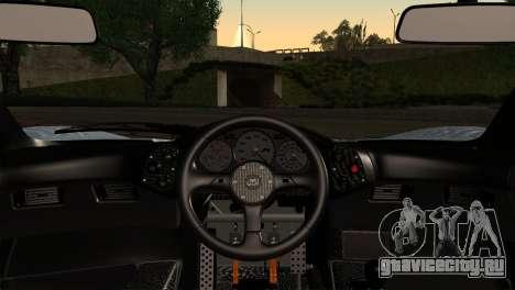 McLaren F1 Autovista для GTA San Andreas вид сзади слева