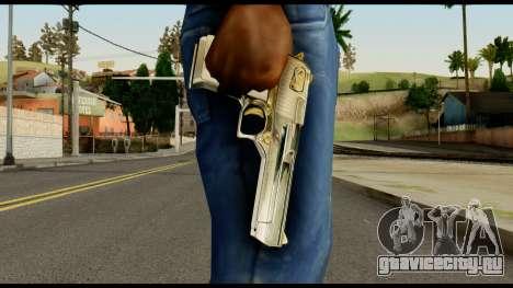 Desert Eagle from Max Payne для GTA San Andreas третий скриншот