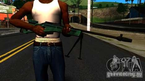 СВ-98 с Сошками и без Прицела для GTA San Andreas третий скриншот