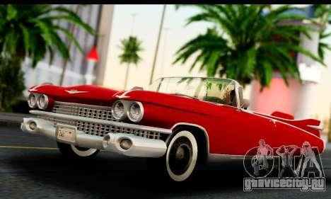 Cadillac Eldorado Biarritz Convertible 1959 для GTA San Andreas
