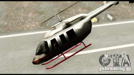 Beta Maverick для GTA San Andreas вид сзади слева