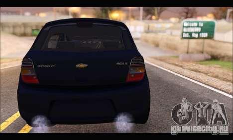 Chevrolet Agile Tunning для GTA San Andreas вид сзади слева