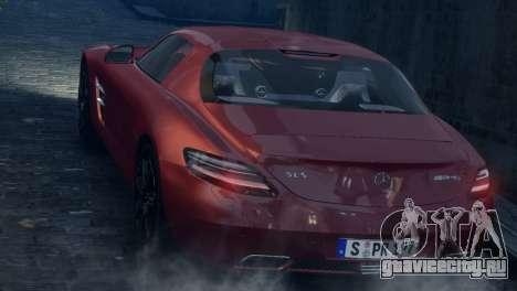 Mercedes-Benz SLS AMG 2011 [EPM] для GTA 4 вид сбоку