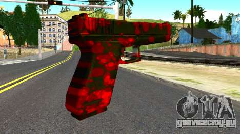 Pistol with Blood для GTA San Andreas второй скриншот