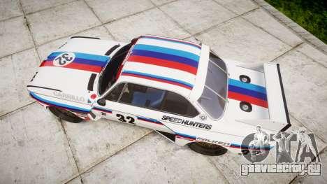 BMW 3.0 CSL Group4 [32] для GTA 4 вид справа