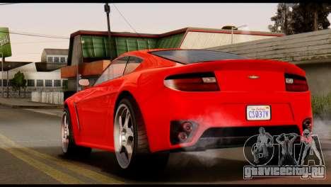 GTA 5 Dewbauchee Rapid GT Coupe [IVF] для GTA San Andreas вид слева
