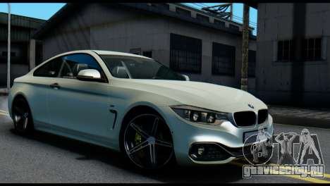 BMW 4-series F32 Coupe 2014 Vossen CV5 V1.0 для GTA San Andreas