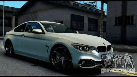 BMW 4-series F32 Coupe 2014 Vossen CV5 V1.0 для GTA San Andreas