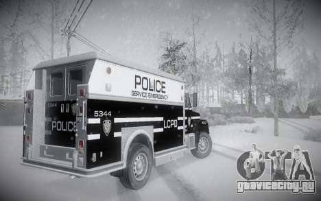 Зимний ENBSeries для GTA San Andreas пятый скриншот
