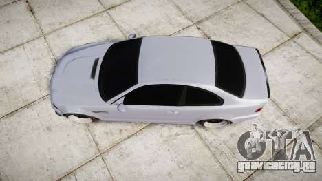 BMW E46 M3 для GTA 4 вид справа