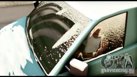 GTA 5 Burrito для GTA San Andreas вид сзади слева