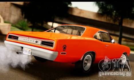 Dodge Coronet Super Bee 1970 для GTA San Andreas вид слева