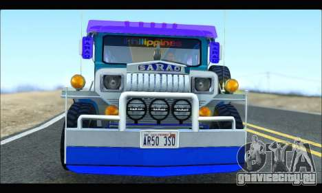 Light Jeepney для GTA San Andreas