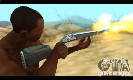GTA V Musket для GTA San Andreas четвёртый скриншот