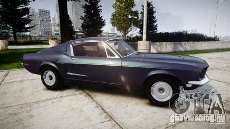 Ford Mustang GT Fastback 1968 Auto Drag III для GTA 4