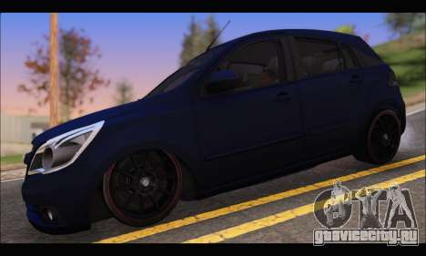Chevrolet Agile Tunning для GTA San Andreas вид слева