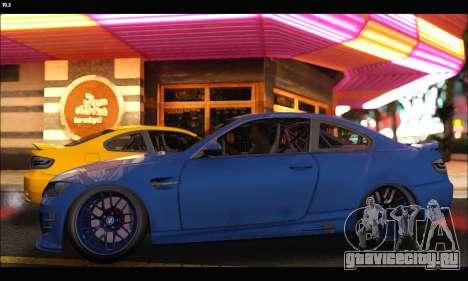 BMW M3 GTS 2010 для GTA San Andreas вид слева