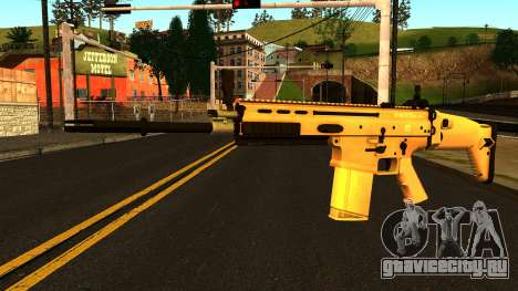 FN SCAR-H from Medal of Honor: Warfighter для GTA San Andreas