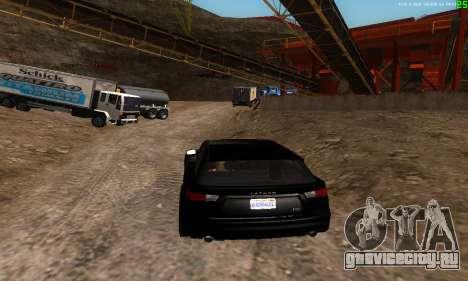 Новые маршруты транспорта для GTA San Andreas четвёртый скриншот