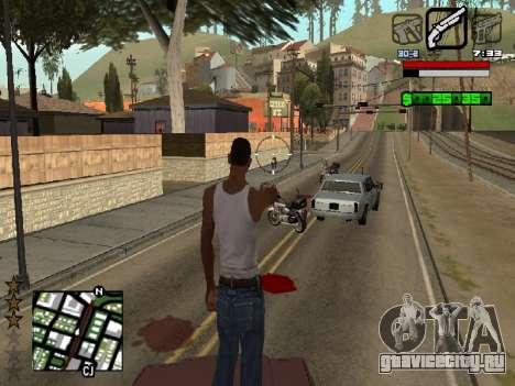 Nice C-HUD для GTA San Andreas