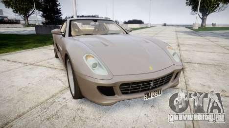 Ferrari 599 GTB 2006 Hamann для GTA 4