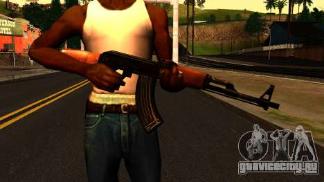 AK47 from Chernobyl 3: Underground для GTA San Andreas третий скриншот