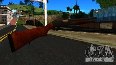 Деревянный MP-133 Серебряный для GTA San Andreas второй скриншот