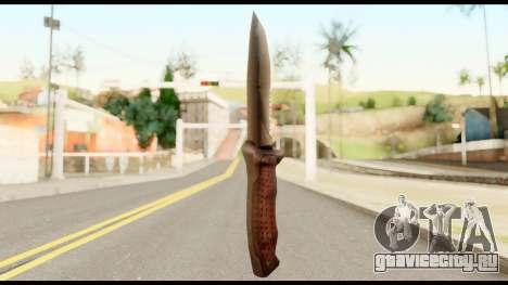 BB Cqcknife from Metal Gear Solid для GTA San Andreas второй скриншот