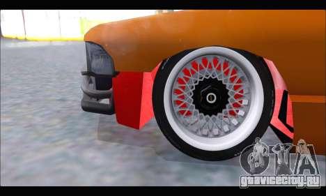 Taxi Extreme Tuning (Hellalfush) для GTA San Andreas вид изнутри