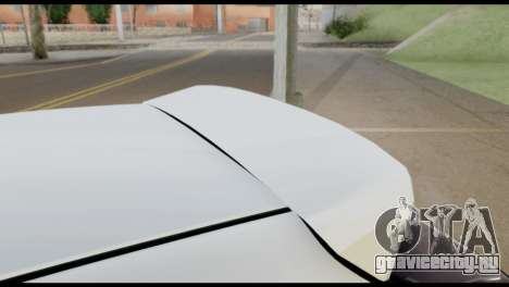 Honda Civic 1.4 Mehmet ALAN для GTA San Andreas вид изнутри