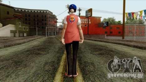GTA 4 Skin 81 для GTA San Andreas второй скриншот
