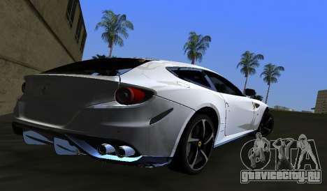 Ferrari FF для GTA Vice City вид слева