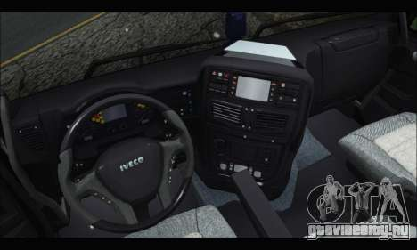 Iveco Trakker 2014 Concrete Snow (IVF & ADD) для GTA San Andreas вид справа