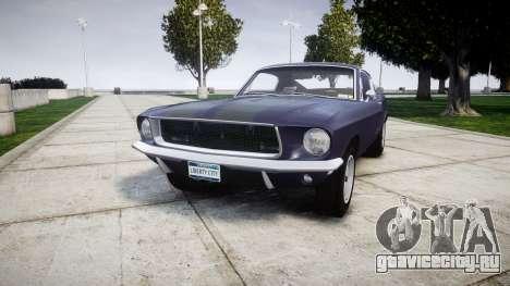 Ford Mustang GT Fastback 1968 Auto Drag III для GTA 4