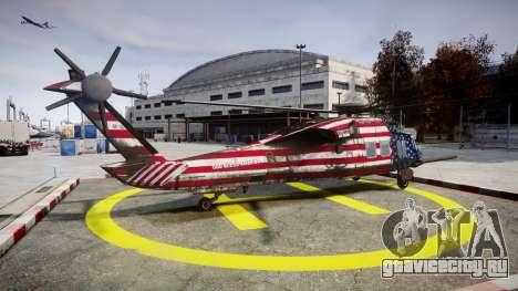 Sikorsky MH-X Silent Hawk [EPM] Freedom для GTA 4 вид слева